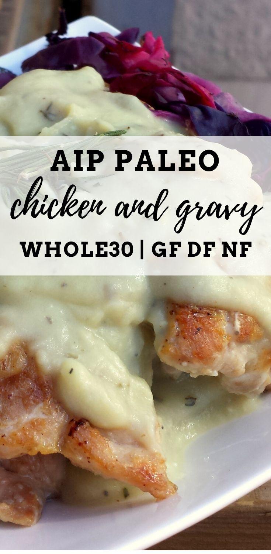 AIP Chicken n Gravy
