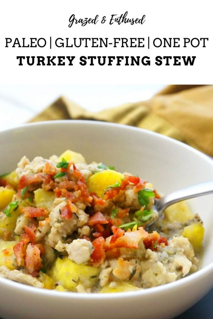 Grain-Free Turkey Stuffing Stew