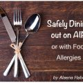 safely dining out AIP food allergies