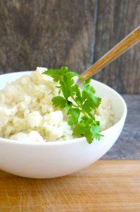 coconut cauliflower rice