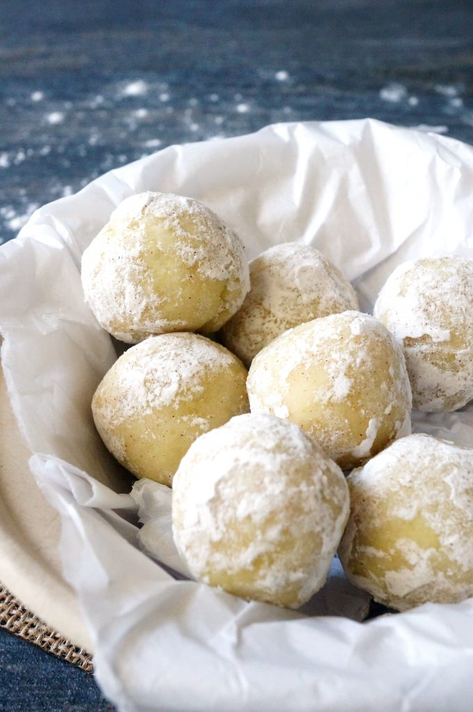 aip low sugar paleo snowballs