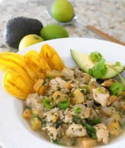 Cilantro Chicken Chili