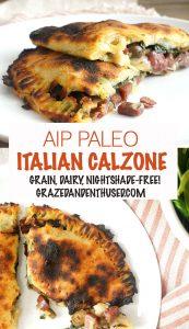 AIP Italian Calzone