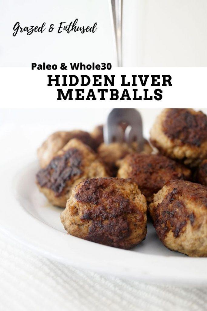Hidden Liver Meatballs