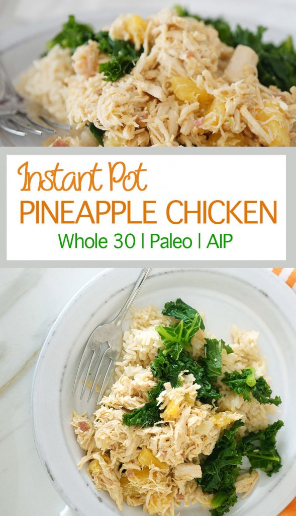 Instant Pot Pinapple Chicken