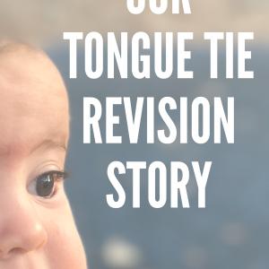 Tongue Tie Revision
