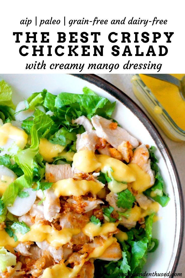 crispy chicken salad paleo