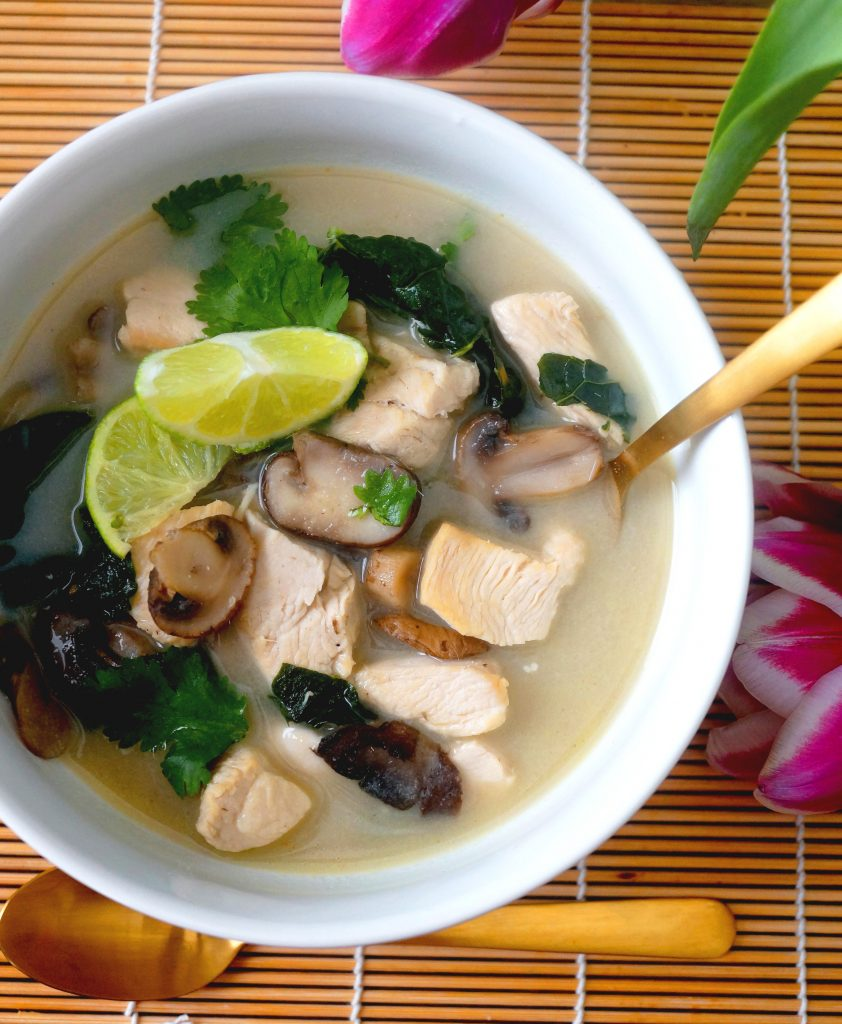 Thai Lemongrass Chicken Soup Huge Aip Giveaway Grazed Enthused