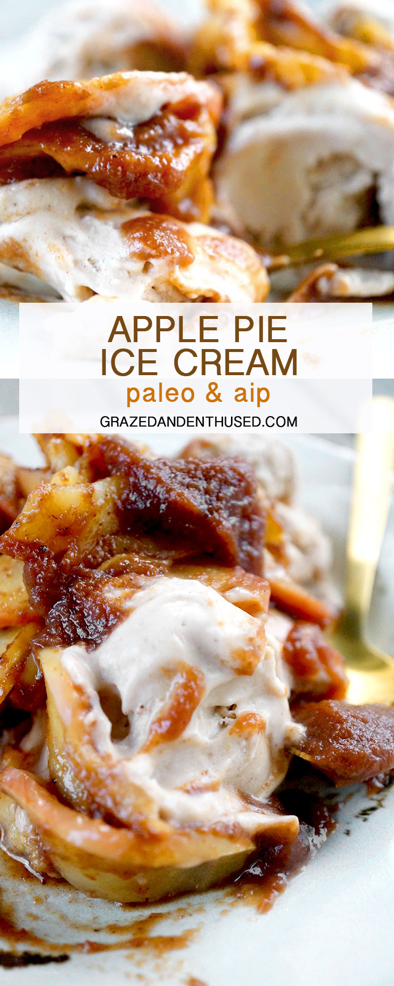 apple pie ice cream aip