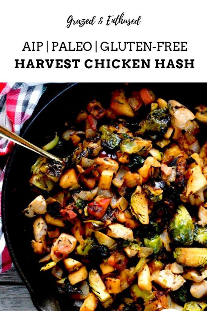 Paleo Harvest Chicken Hash Skillet