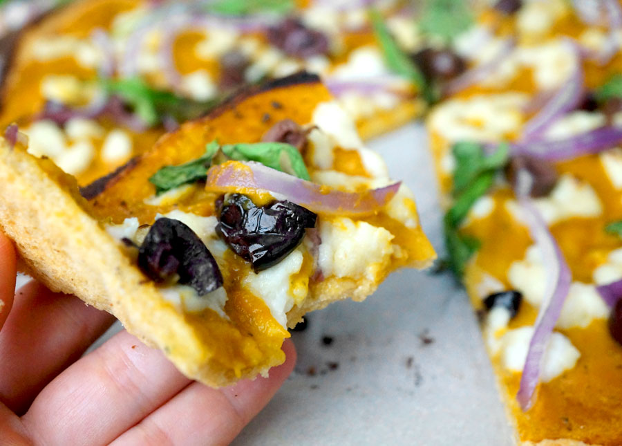 AIP Pizza - free of grains, dairy & nightshades!