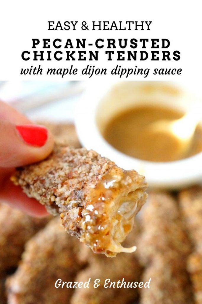 Pecan Crusted Chicken Tenders