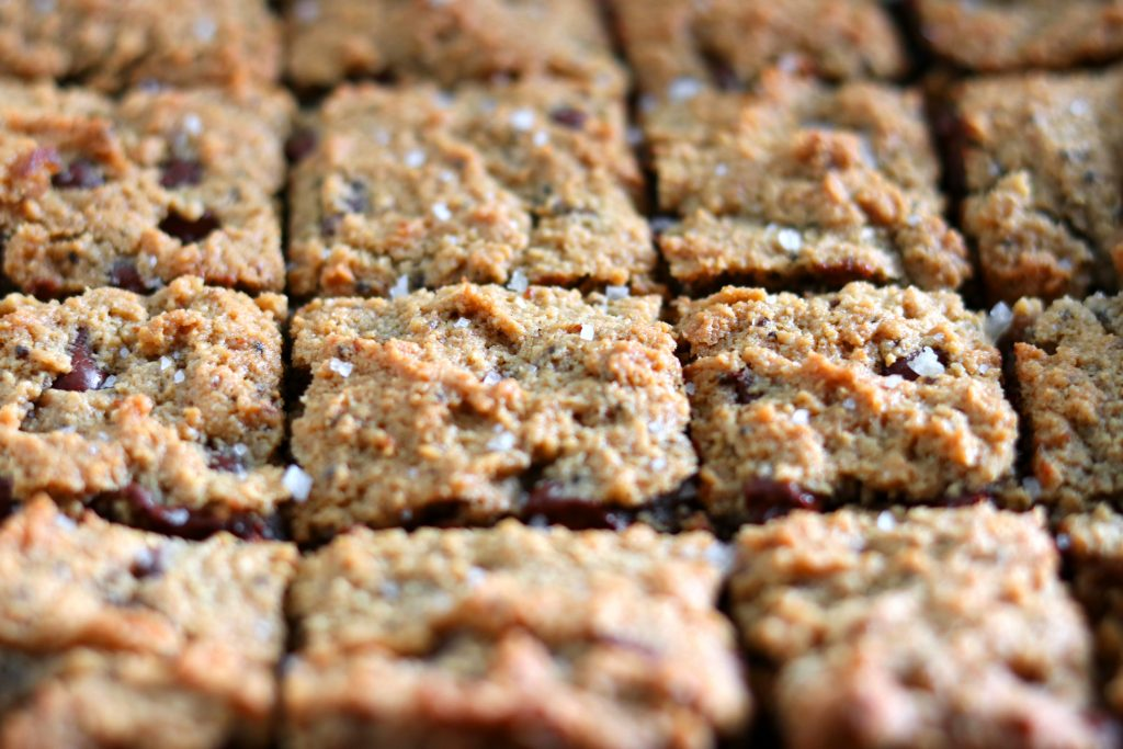 paleo gluten free cookie bars