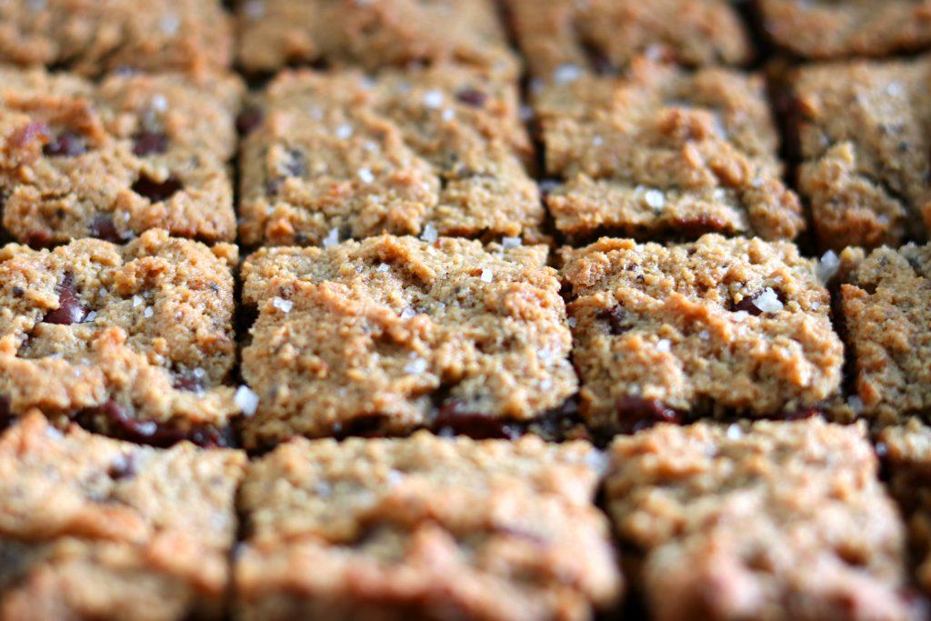 paleo gluten free cookie bars