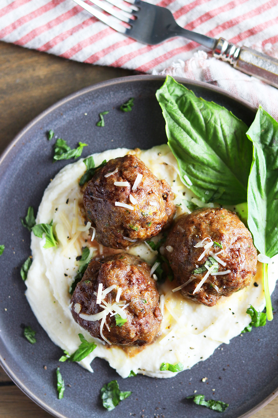 Paleo Savory Meatballs