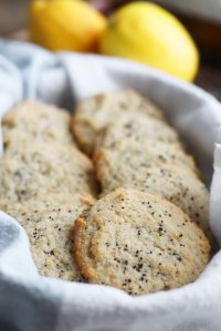 Gluten Free Lemon Poppy Seed Cookies