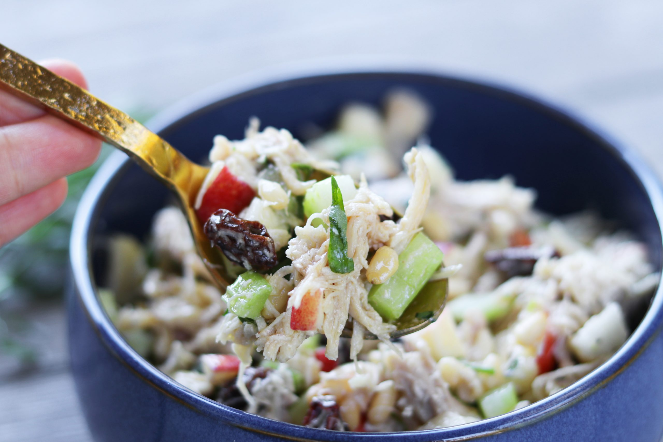 Paleo Tarragon Chicken Salad