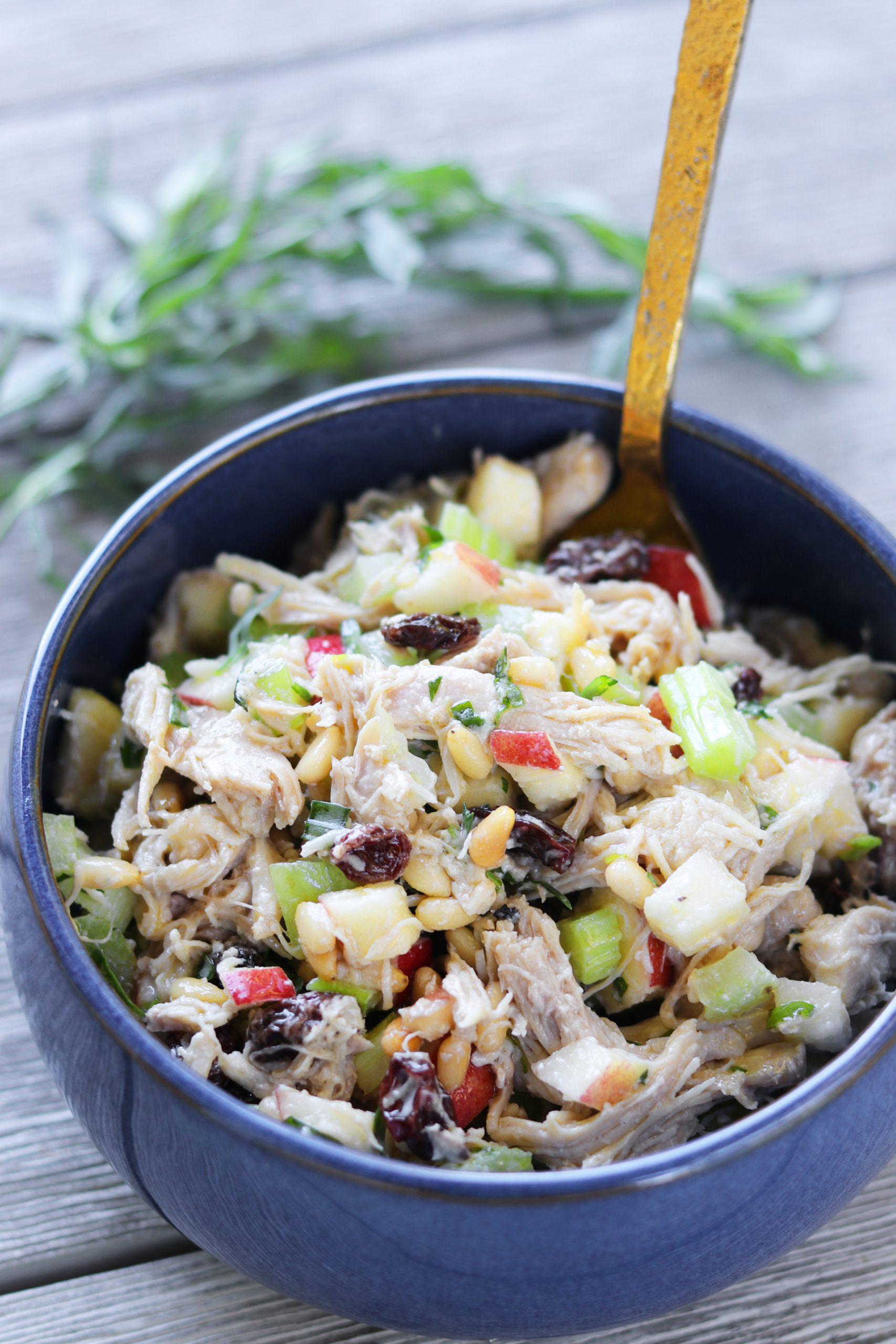 Tarragon Chicken Salad Paleo