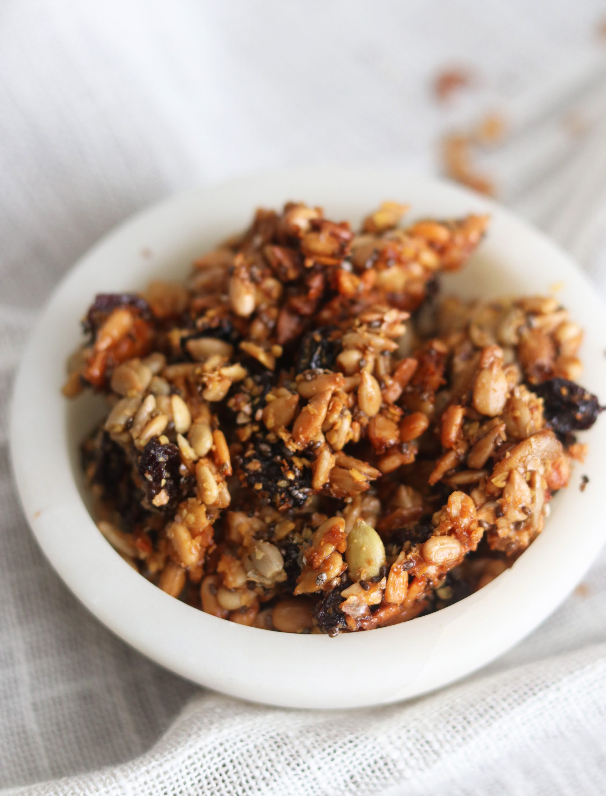 Nut Free Paleo Granola