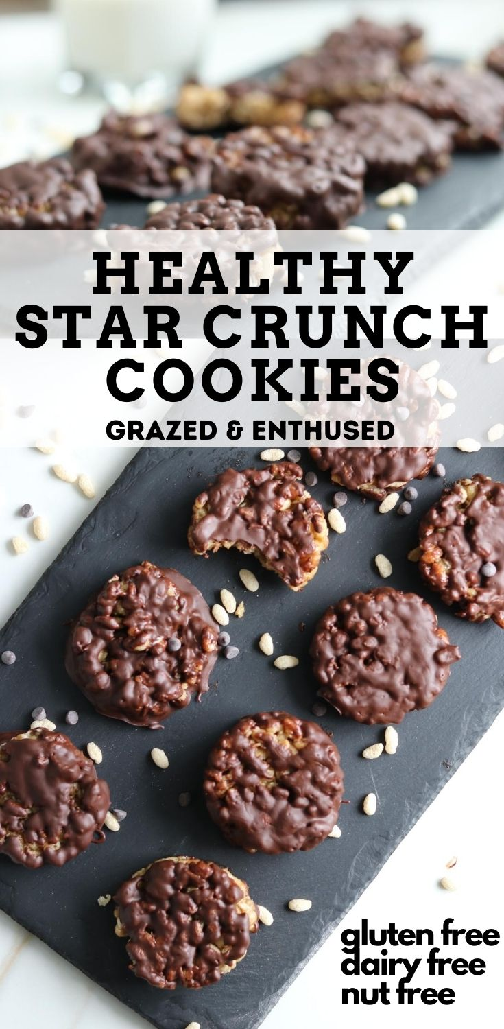 Healthy Star Crunch Cookies