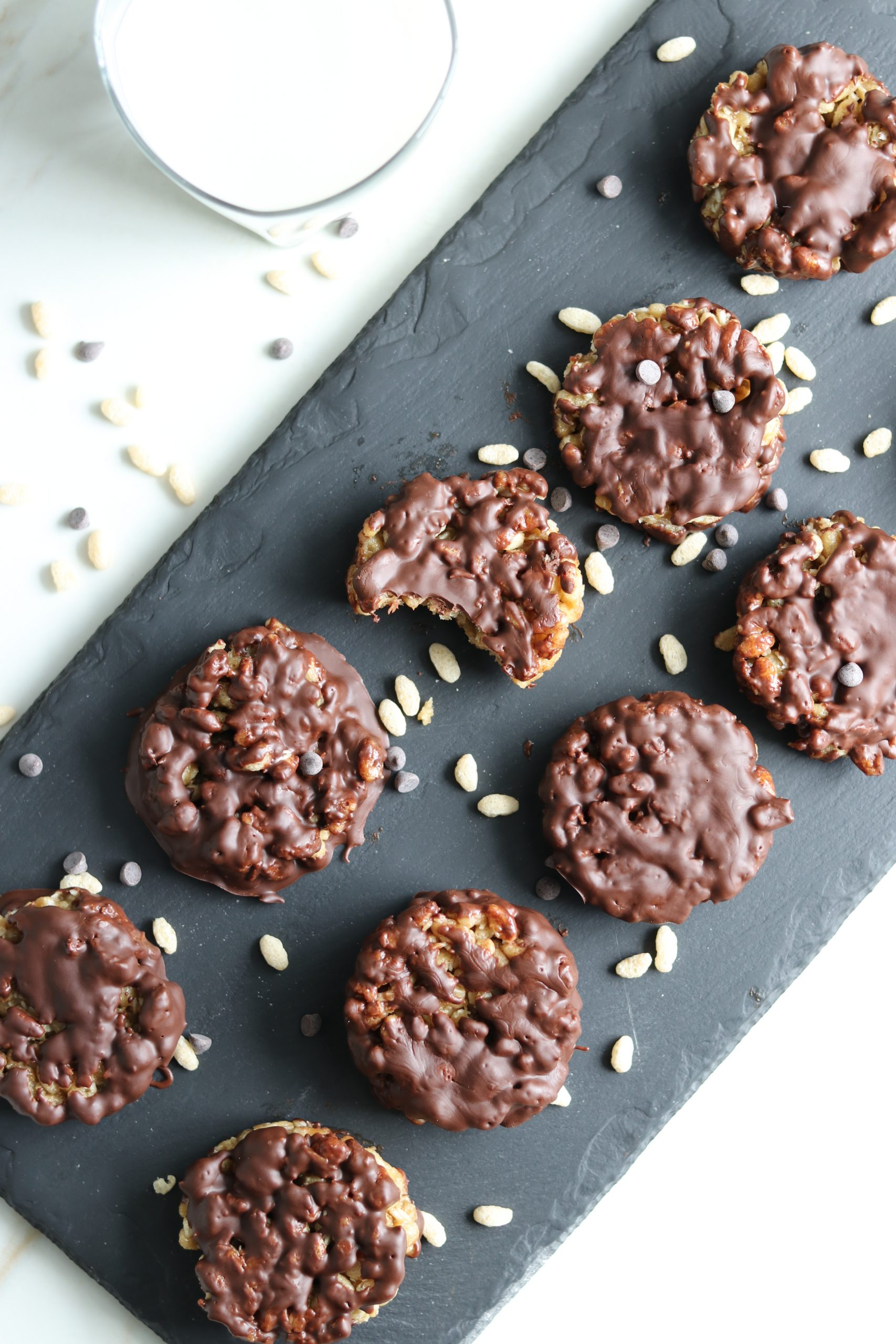 Healthy Star Crunch Cookies - Gluten Free and Dairy Free - Grazed and Enthused