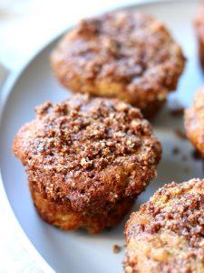 Paleo Apple Crumb Muffin