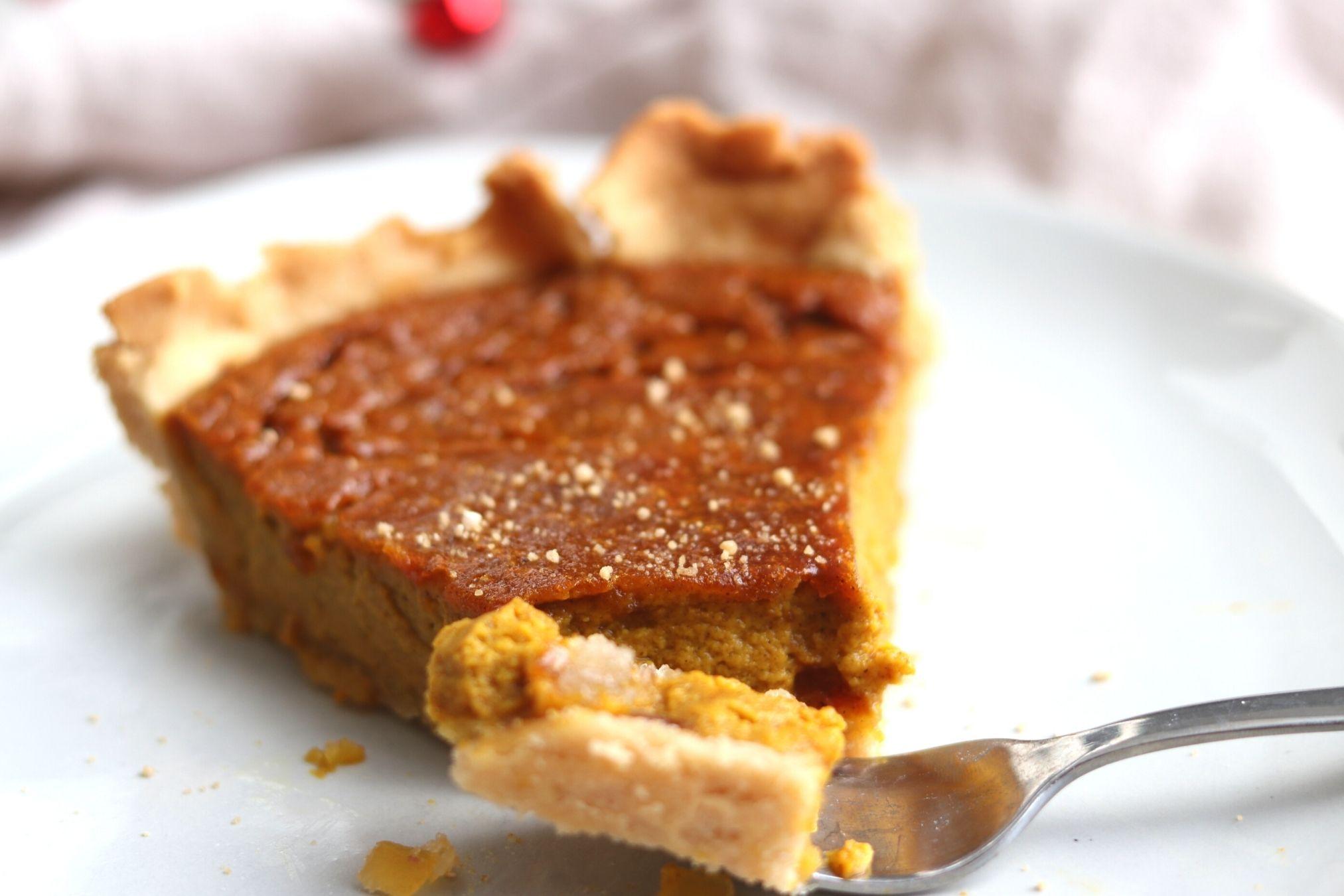 Classic Pumpkin Pie Paleo Grain-Free Gluten-Free