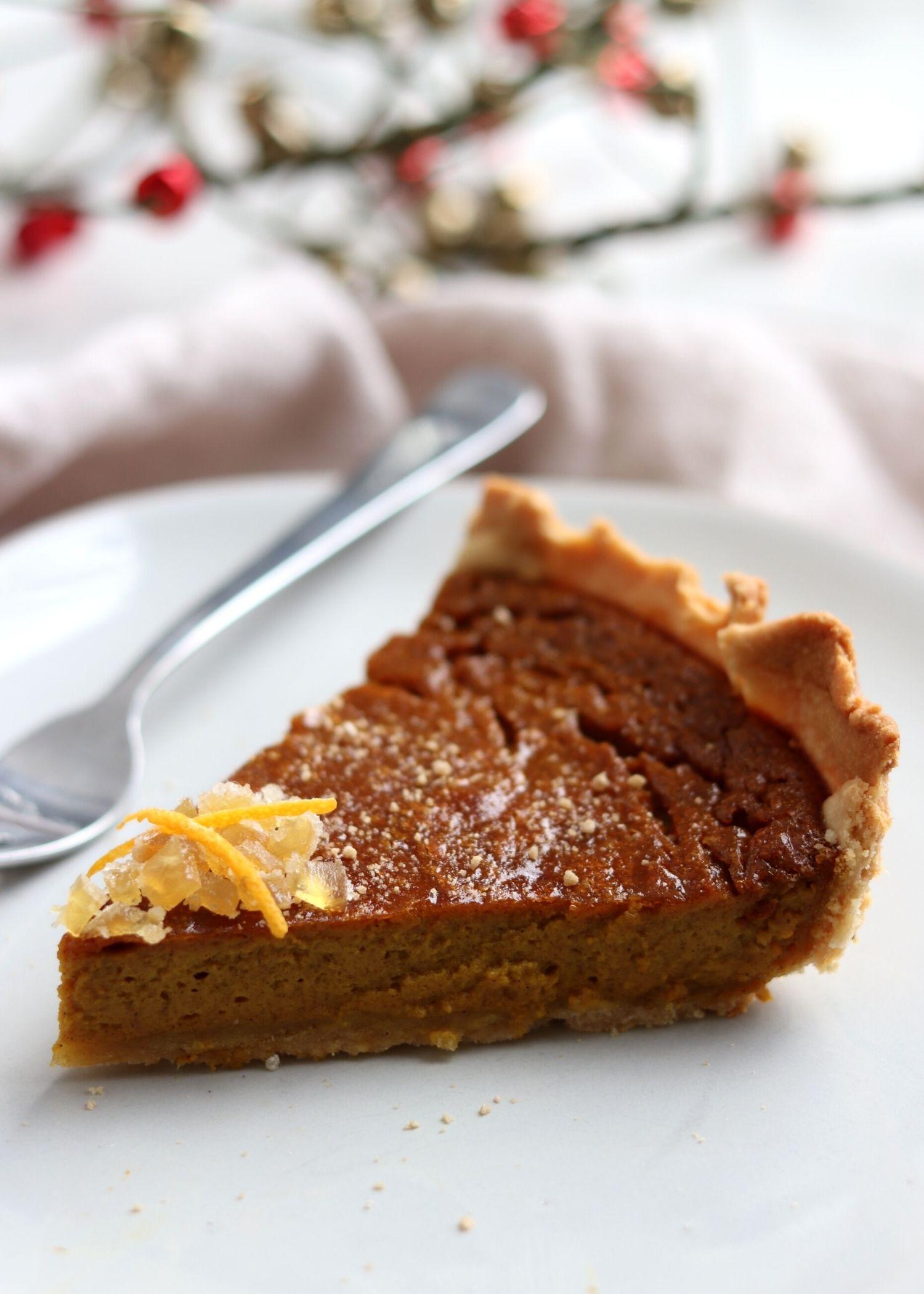 Classic Pumpkin Pie Paleo Grain-Free
