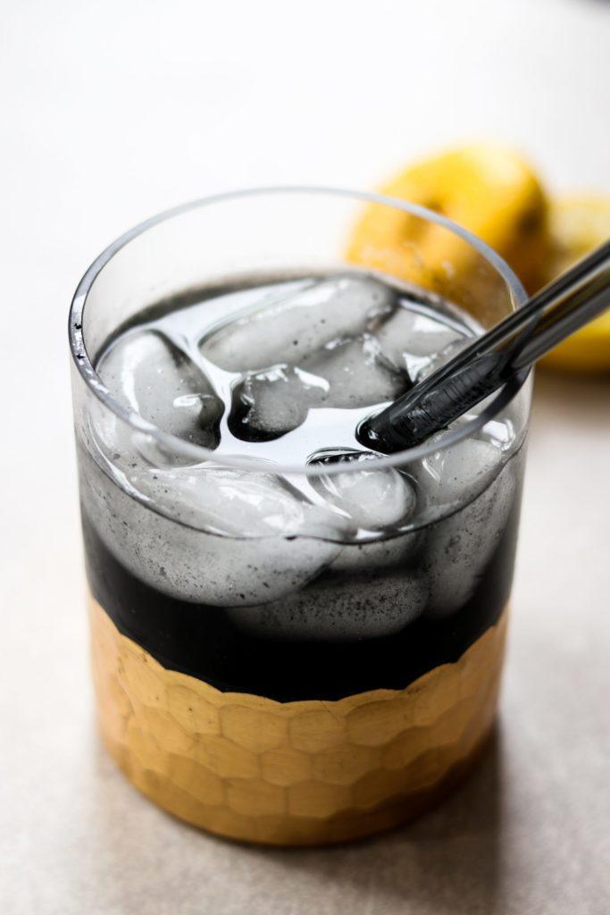 Detox Charcoal Lemonade