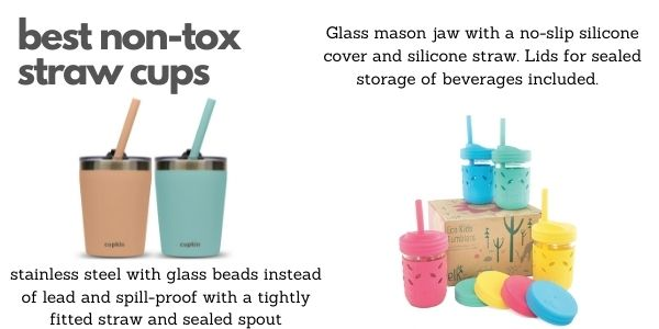 best non-toxic straw cups