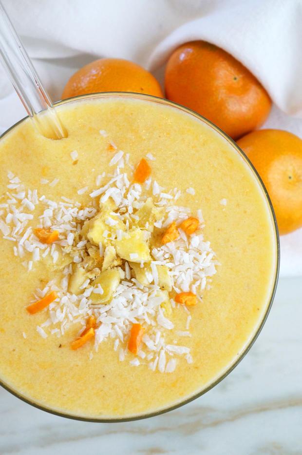 orange cream smoothie paleo aip