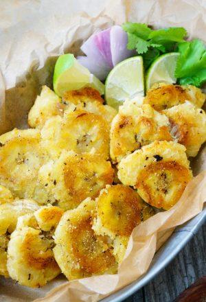 tostones guacamole paleo