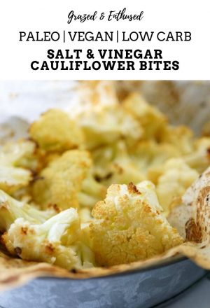 Salt & Vinegar Cauliflower Bites
