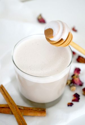 white tea latte