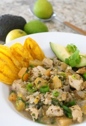 Cilantro Chicken Chili