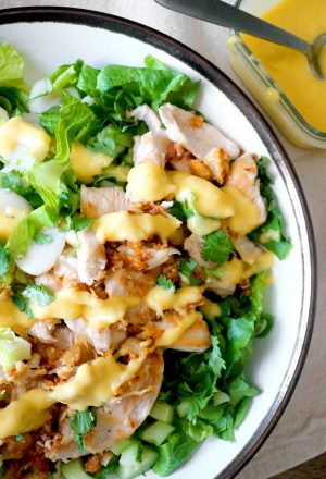 crispy chicken salad aip paleo
