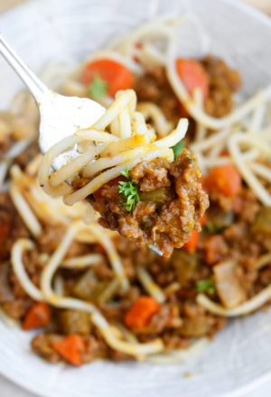 Nightshade-Free Meat Sauce - Paleo, AIP, Whole30, Gluten-Free